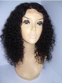 Custom Curly Hair Full Lace Wig