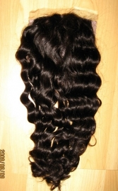 Deep Wavy Silky Top Closure
