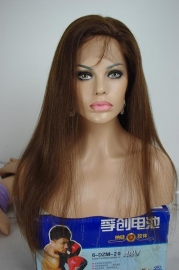 Mongolian Full Lace Wig Color #6