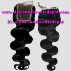 Body Wavy Top Closure